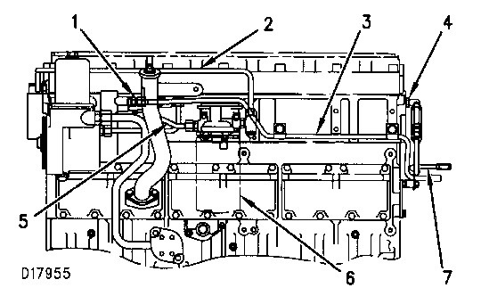 Cat C15 Fuel System Diagram