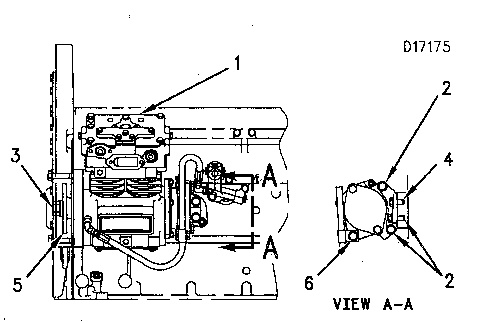 3116 and 3126 truck engines air compressor caterpillar engines rh catengine info cat 3116 engine diagram 3126 Cat Engine Parts Manual