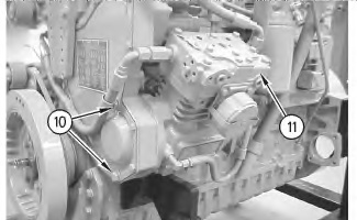 3116 and 3126 truck engines air compressor remove and install rh catengine info Caterpillar 3126 Fuel System Diagram Caterpillar 3126 Marine