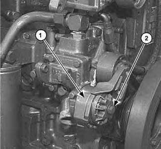 3116 and 3126 truck engines belt tensioner remove and. Black Bedroom Furniture Sets. Home Design Ideas