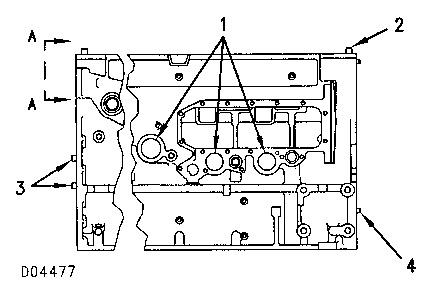 3116 And 3126 Truck Engines Cylinder Block Caterpillar