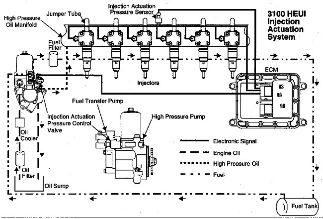 27 Caterpillar 3116 Fuel System Diagram