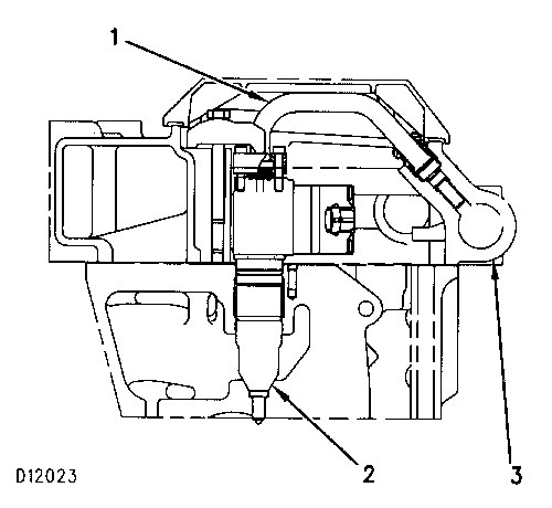 cat c7 fuel pressure sensor location