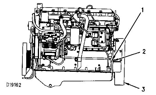 3116 and 3126 truck engines finding top center position for no  1 piston