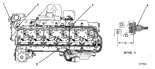 3116 and 3126 truck engines electronic control group