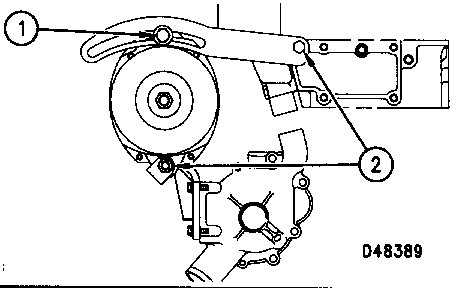 3116 and 3126 heui truck engines belts inspect  3126 cat engine belt diagram #2