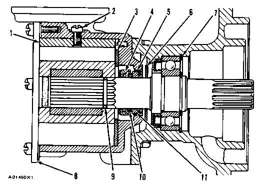 3304 & 3306 Marine Engines Assemble Sea Water Pump | Caterpillar